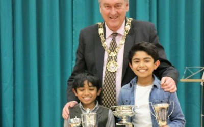 Winners of the Junior Recital Cup, Bach Junior Cup, Beethoven Junior Cup & Betty Walker Cup for own choice