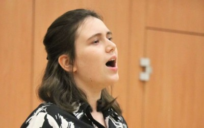 Winner of the H R Taylor Charitable Trust Vocal Prize & Junior Vocal Challenge Cup