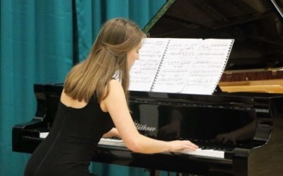 Winner of the H R Taylor Charitable Trust Piano Prize