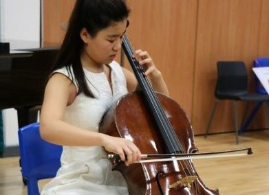Winner of the H R Taylor Strings Prize
