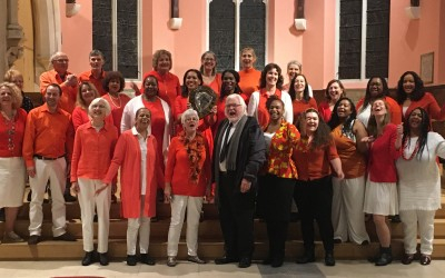 Soul Symphony Choir, winner of the Open Challenge Shield